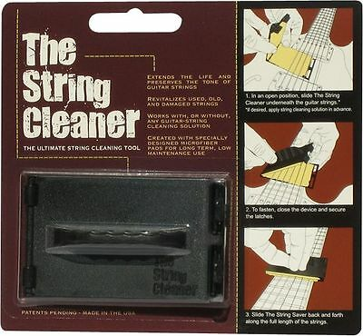 The String Cleaner - Ultimate Guitar String Cleaning Tool *new*