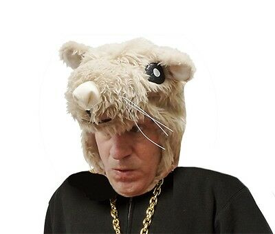 Hamster Headpiece Adult Costume Halloween New Hat One Size Novelty!