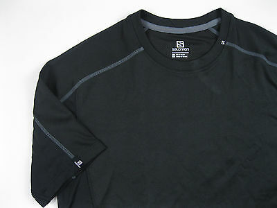 SALOMON Advanced Skin Active Try Shirt Sleeve Black Gr.M - 48 Base Layer