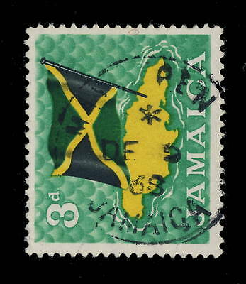 "Jamaica - 1968 - "" May Pen / Jamaica "" Circle Date Stamp On Sg 221"