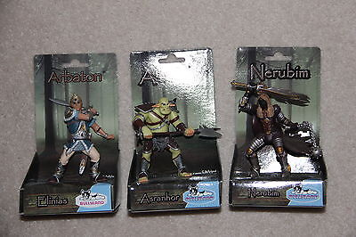 Collection of 3 toy Bullyland Knights Fantasy figures all BNIP