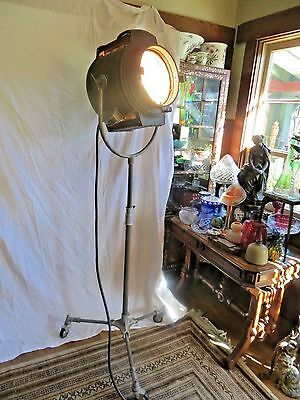 Vintage Bardwell & Mcalister Hollywood Movie Studio Keg-Lite Spotlight