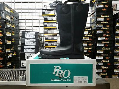 PRO Leather Fire Boots Model 4000 NFPA 1971 2007 Edition Size 7D
