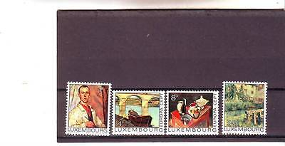 Luxembourg - Sg947-950 Mnh 1975 Europa - Paintings