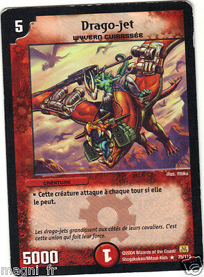 Duel Masters n° 75/110 - Drago-jet (A3004)