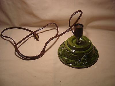 Vintage Ceramic Christmas Tree Base Replacement Tested WORKS perfect!