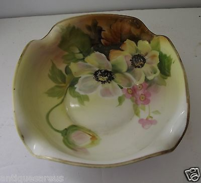 Fabulous Floral Hand Painted Nippon Bowl
