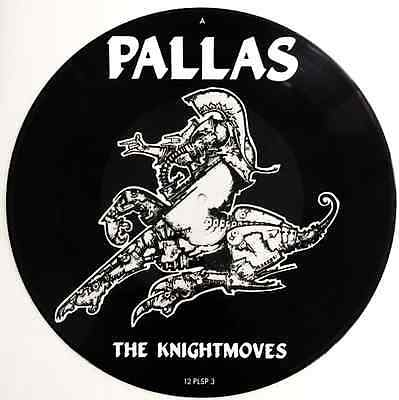 """PALLAS - The Knightmoves EP (12"""") (Picture Disc) (EX+/EX+)"""