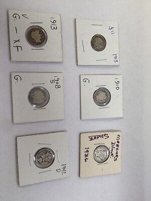 Lot Of Silver Dimes
