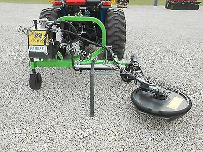 "Fence Row Trimmer/Mower,Tree Row Trimming, Peruzzo Side Cutter: TELESCOPES 24""!"