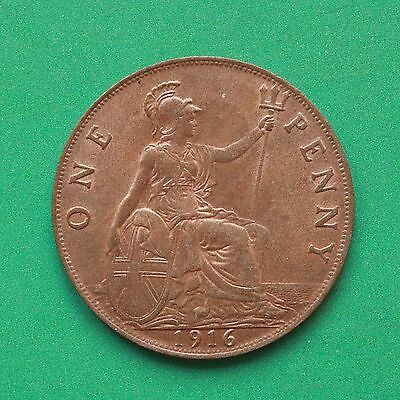 1916 George V Penny UNC Uncirculated SNo22432
