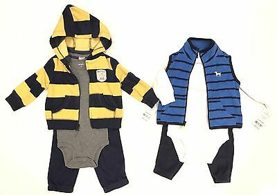 New 6 pc lot Baby Boys Clothing size 6 Months