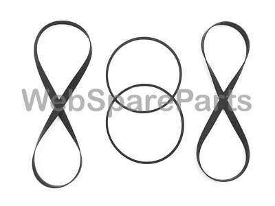 SONY TC-WE525, TCWE525 Drive Belt Kit For Cassette Deck (4 Belts)