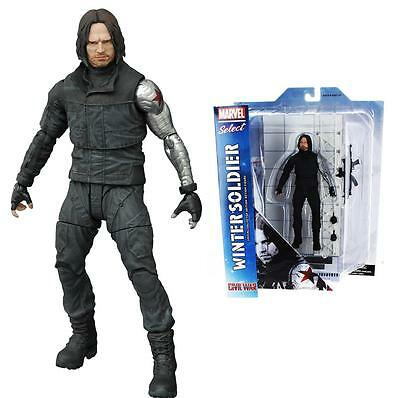 NEW Marvel Select: Winter Soldier Action Figure Captain America: Civil War Toy