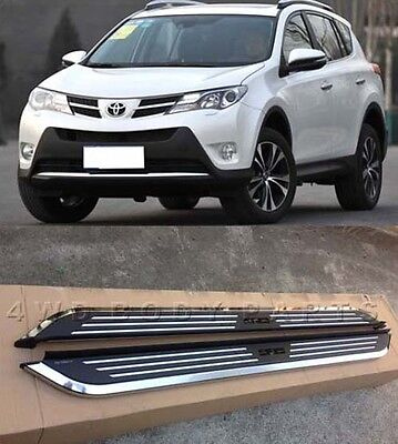 (#77) Toyota Rav4 2013 to 2017 Aluminium Side Steps Running Boards