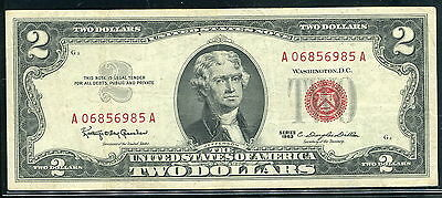 United States , P382a  pick 382 a , 2-Dollar , 1963 , VF