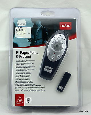 (M) Nobo P3 Page, Point & Present - Presenter/Laser/Remote