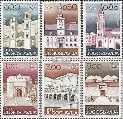 Yugoslavia 1222-1227 (complete issue) unmounted mint / never hinged 1967 BoarDin