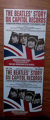"""""""The Beatles' Story On Capitol Records"""" Part 1 & 2 in slipcase MINT & signed WOW"""