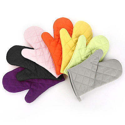 Cotton Oven Mitt Heat Proof Resistant Kitchen Cooking Pot Holder Glove Gracious