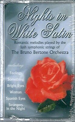 Nights in White Satin. The Bruno Bertone Orchestra (1996) Musicassetta NUOVA Low