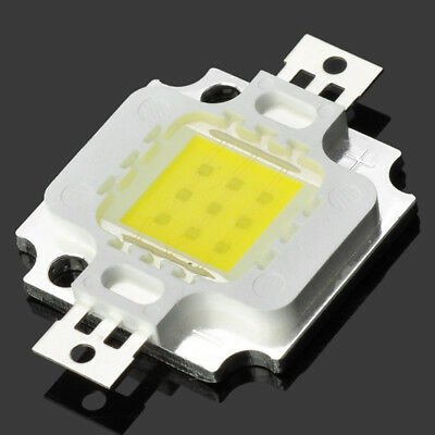 2PC High Power DIY 10W 12V 900-1000LM 6000-6500K White Light 9 LED Module HOT SN