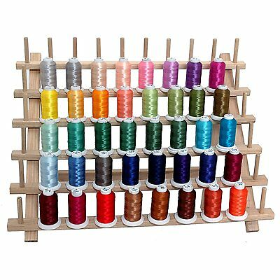 Sewing Machine Thread Set Polyester 40 Spools New Colors 500m Each Brother