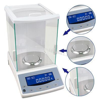 120x0.0001g Digital Analytical Balance intuitive Electronic Scale 110v/220v Fast