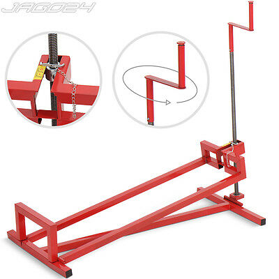400kg Garden Ride On Lawn Mower Lifter Lifting Device Tractor Lift Jack Hoist