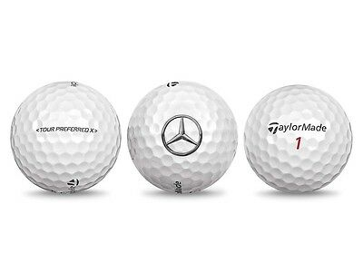 3 Golf Ball orig Mercedes Benz Set Golf bälle Tour Preferred X ™ by Taylor Made®