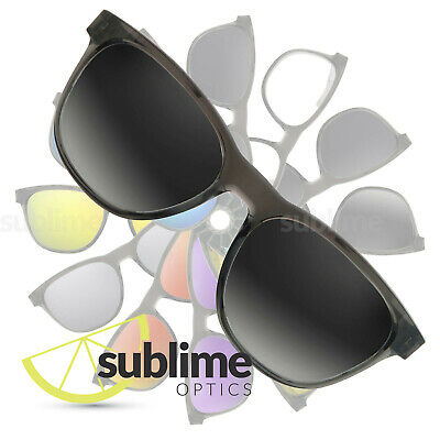 9ac243fb3d9 POLARIZED Gradient Grey-Clear Replacement Lenses for Oakley Stringer OO9315