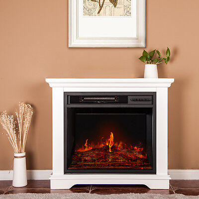 BTM Electric Fireplace Suite 220/240V,2KW multi function remote control MDF