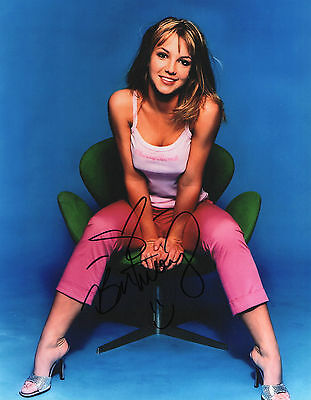 BRITNEY SPEARS Signed Autographed 10x8 Photograph COA