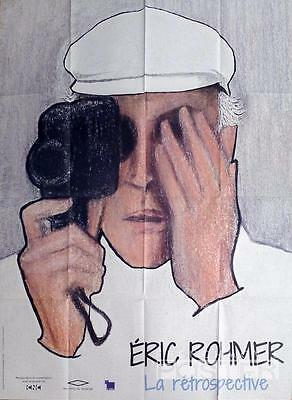 Eric Rohmer - Camera / New Wave / French Director / Hat - Original Movie Poster