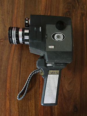 Yashica-8 UP Reflex zoom  8mm Camera Vintage film retro movie Cine hand wind
