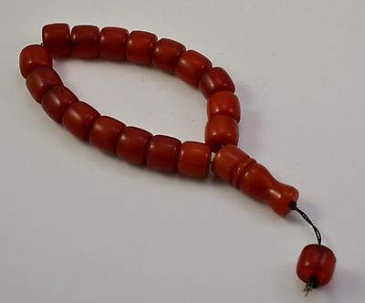 Vintage Muslim Islamic Imam Prayer Beads Rosary
