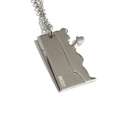 Grizzly Griptape Blade Necklace Skateboard/Clothing