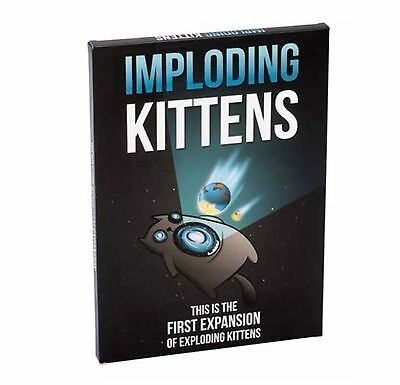 Imploding Kittens:20 New Cards Playing Game First Expansion of Exploding Kittens