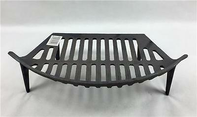 """16"""" Single Fire Grate Bottom Base Bow Fronted Cast Iron"""