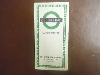 Green Line Coach Routes Map
