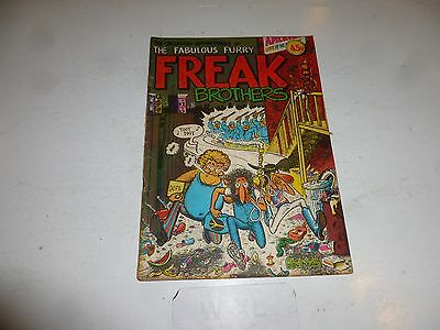 FABULOUS FURRY FREAK BROTHERS Comic - No 1 - Date 1976 - Ripp Off Press (UK)