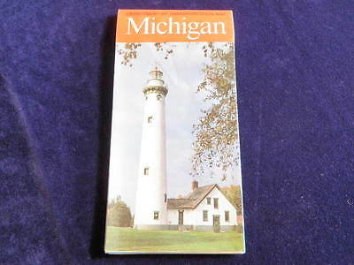 Vintage 2000 Official Michigan Highway State Road Map MI
