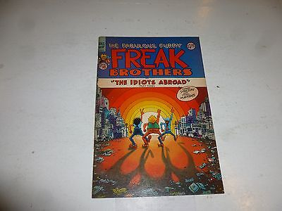 FABULOUS FURRY FREAK BROTHERS Comic - The Idiots Abroad - No 10 - Date 1987 - UK