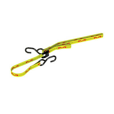 "Matrix MX Motocross Bike M1 Premium 1"" Tie Down Straps - Yellow"
