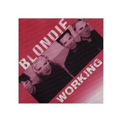 Blondie authentic Working 1999 tour Backstage Pass