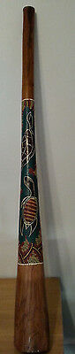 DIDGERIDOO  Hand-Carved Dot-Painted