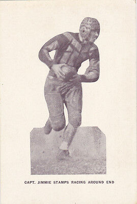 Football Player Capt. Jimmie Stamps , Presbyterian College , CLINTON , South Car