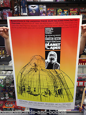 "PLANET OF THE APES Movie Poster 40"" x 27"" Vintage Reprint from 1968 Movie Poster"