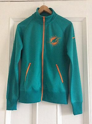 Nike Womens NFL Miami Dolphins Tracksuit Top Medium
