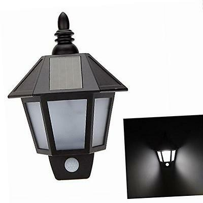 Haichen Waterproof Solar Garden Wall/Fence Light LED PIR Motion Sensor